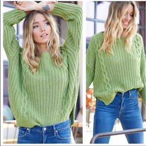 Sweaters - JUST IN!!!✨Cable Knit Sweater